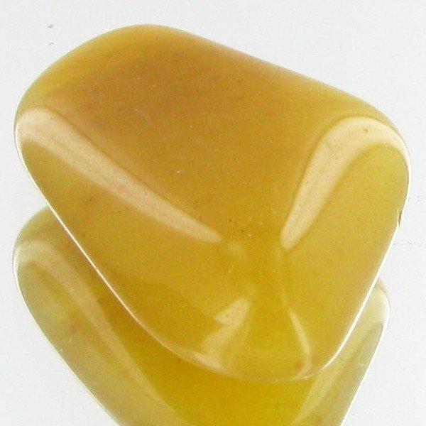 94: 24.85ct Yellow Opal Freeform Cabochon