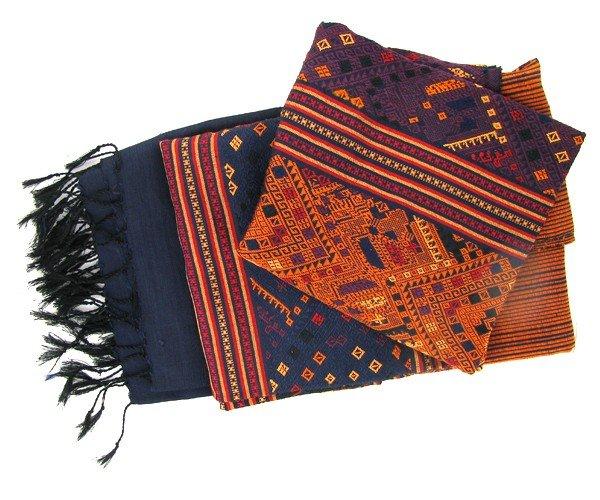 32A: Laos Raw Silk Wall Tapestry
