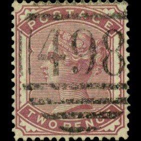1880 Britain 2p Victoria Stamp