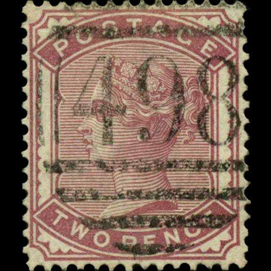 76A: 1880 Britain 2p Victoria Stamp
