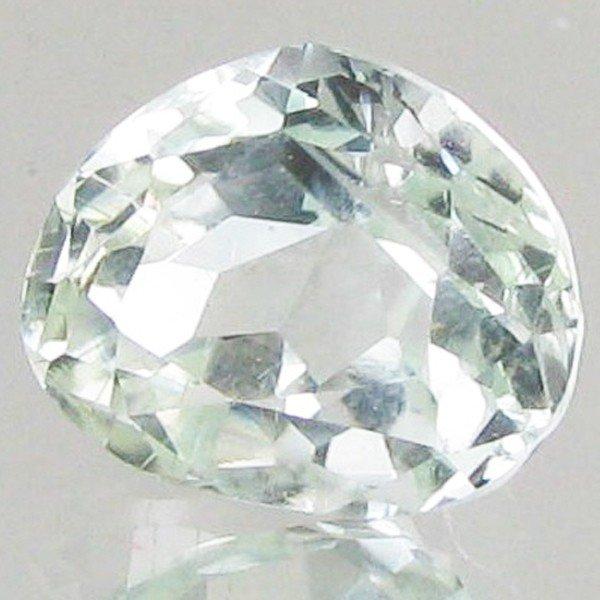 50: 4.7ct Strong Green Kunzite Trillion