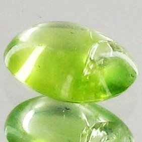 2.15ct Clean Green Peridot Cabochon