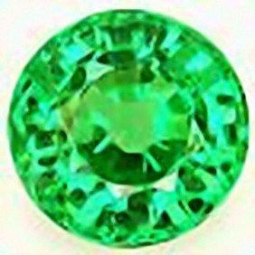 2mm Round Green Tsavorite Garnet