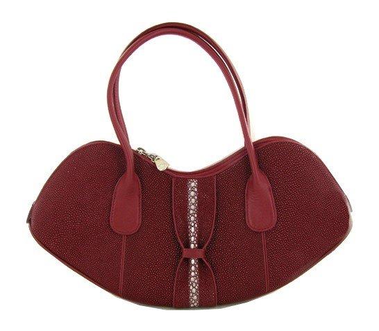 87: High End Ladies Stingray Handbag Purse