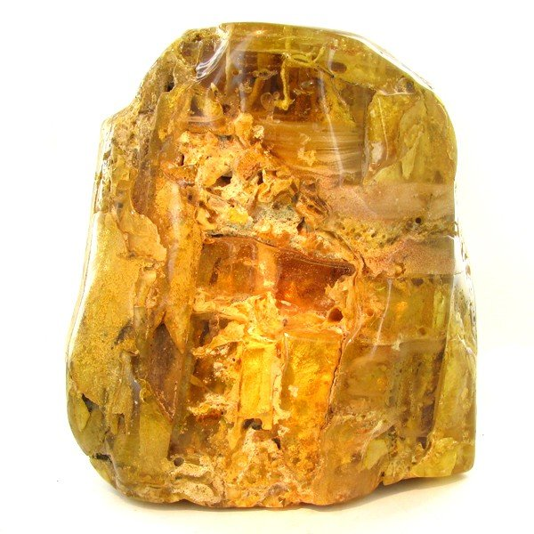 528: 10550ct Natural Peru Amber Rough HUGE w/Insects!