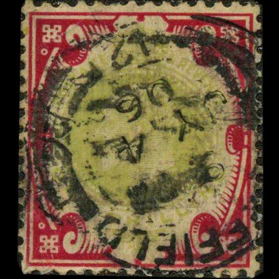 83A: 1905 Britain Edward 1s Stamp