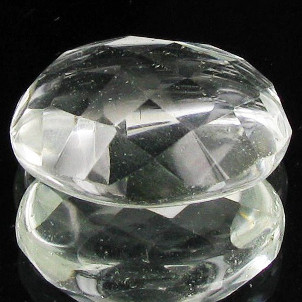 9: 22.65ct Clear White Quartz Cut Oval