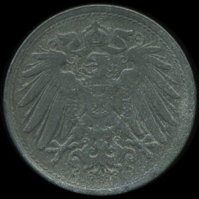 1922 Germany 10pf Unc Details EST: $195 - $390 (COI