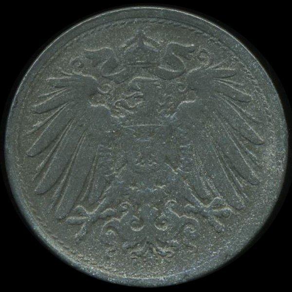 31: 1922 Germany 10pf Unc Details EST: $195 - $390 (COI