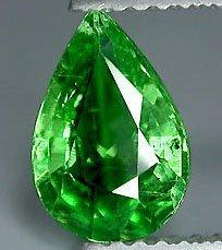 62: 1.35ct Hot Mint Green Tsavorite Garnet VVS EST: $48