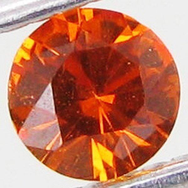 66: 0.5ct Orange Sapphire Songea EST: $21 - $42 (GEM-19