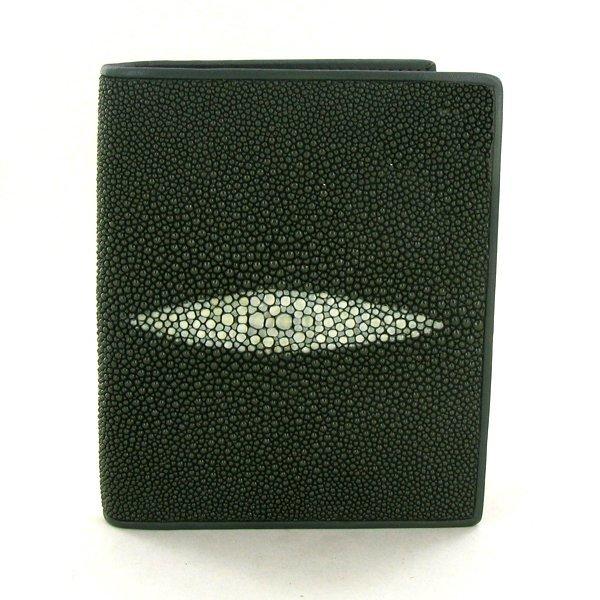 37A: Mens Stingray Hide Wallet