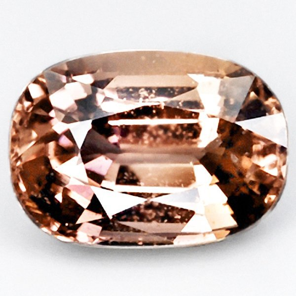 43A: 1.31ct Oval Unheated  Pink Orange Sapphire