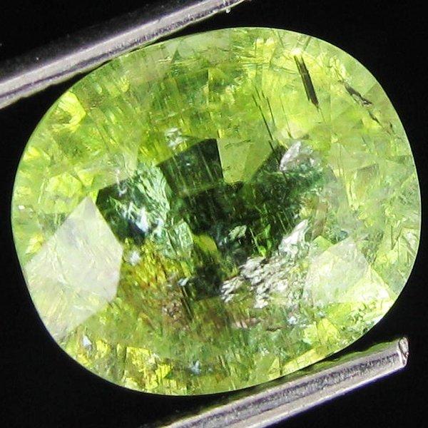 74A: 3.7ct Neon Green Copper Bearing Tourmaline