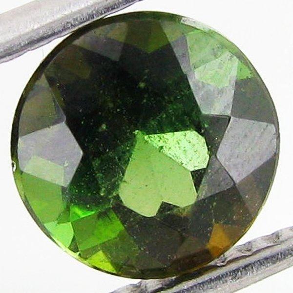 1: 1.6ct Green Peridot Round EST: $15 - $30 (GEM-41153)