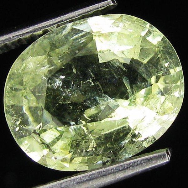 4: 2.95ct Green Copper Bearing Tourmaline EST: $300 - $