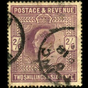1911 Britain Edward 2s Stamp EST: $600 - $1200 (STM