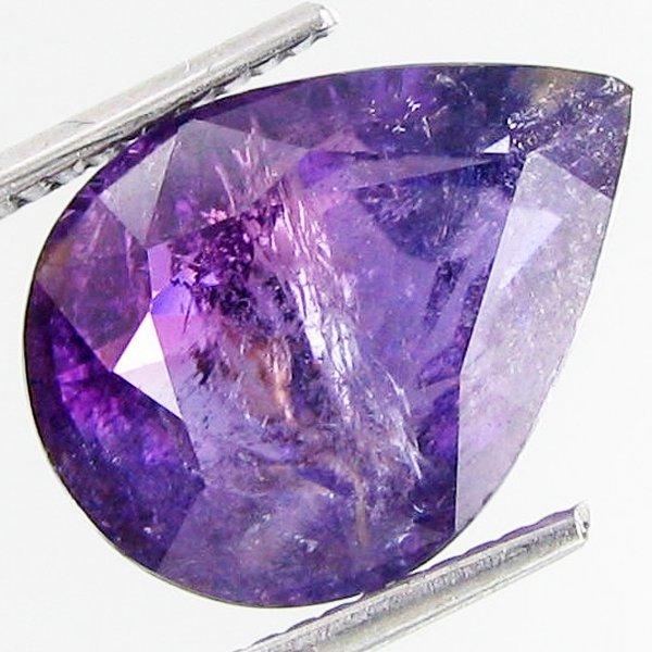 1615: 7.57ct  Huge Copper Bearing Violet Tourmaline  ES