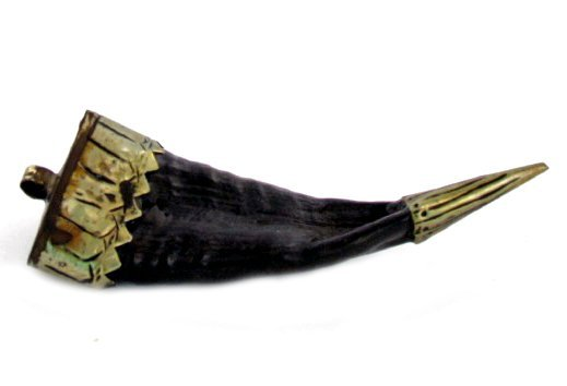Tibet Vintage Goat Horn Pendant