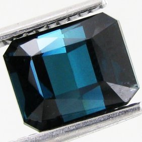 3.48ct Neon Deep Blue Cuprian Tourmaline Vvs
