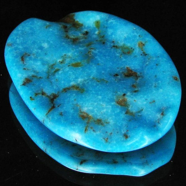61: 68.05ct Natural Turquoise Cabochon