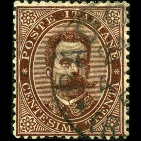 540: 1879 RARE Italy 30c Stamp