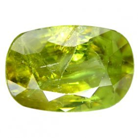 1.90ct Natural Nice Pakistan Oval Green Sphene