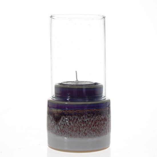 28: Ceramic Candle Holder with Globe