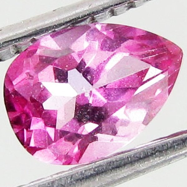 30: 1.02ct Mystic Pink Pear Topaz
