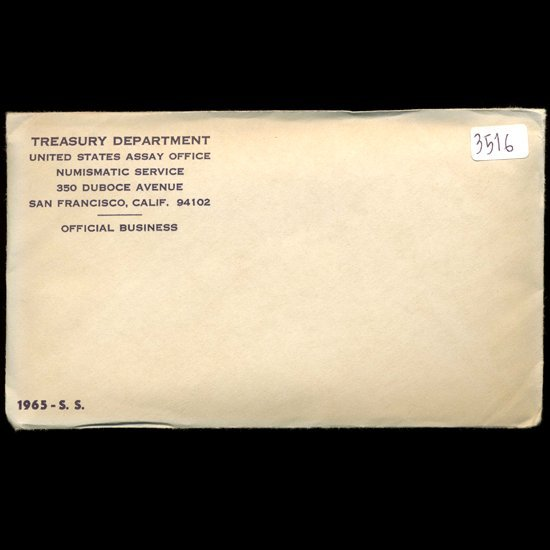 1: 1965 US Mint Special Mint Set UNOPENED