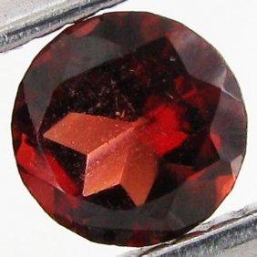 0.48ct Wine Red Garnet Round