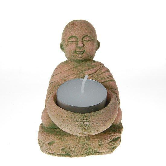11: Hand Formed Sandstone Monk