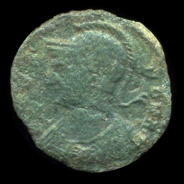 17: 300AD Roman Bronze Coin Higher Grade