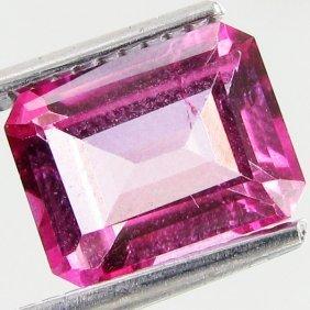 3.15ct Octagon Mystic Pink Topaz
