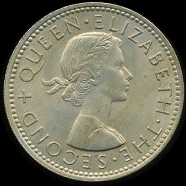 53: 1964 New Zealand Shilling MS66+