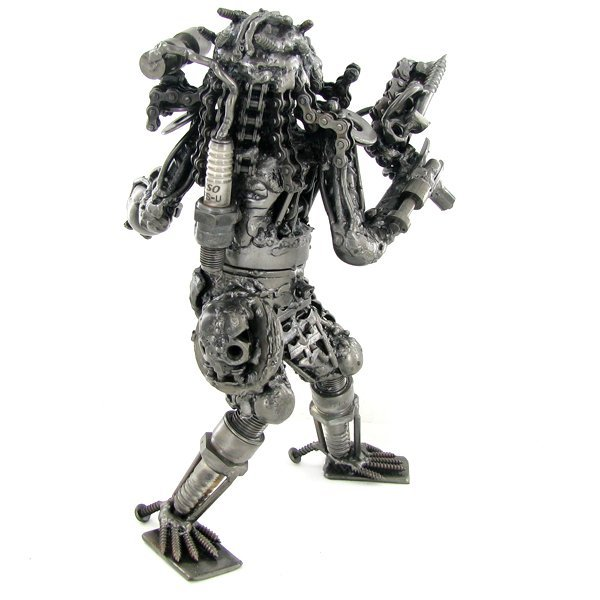 900: Artist Crafted Movie Figure From Steel - 3