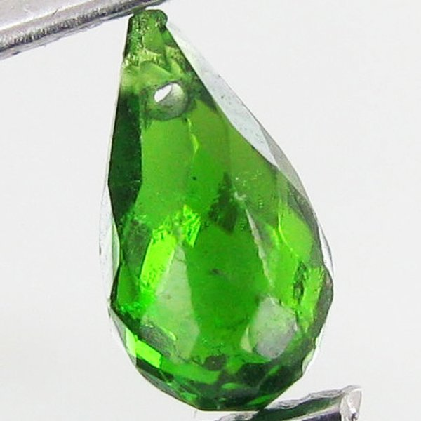 1552: 0.4ct Chrome Diopside Briolette