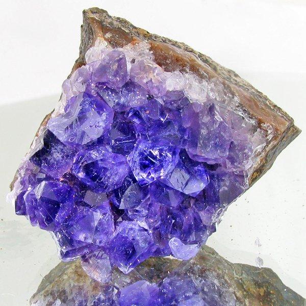69: 395ct Deep Color Uruguay Amethyst Crystal Cluster