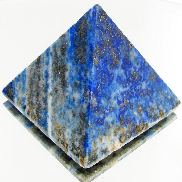 70: 435ct Lapis Lazuli Pyramid Shape