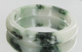 385ct Top Burma Jade Bracelet