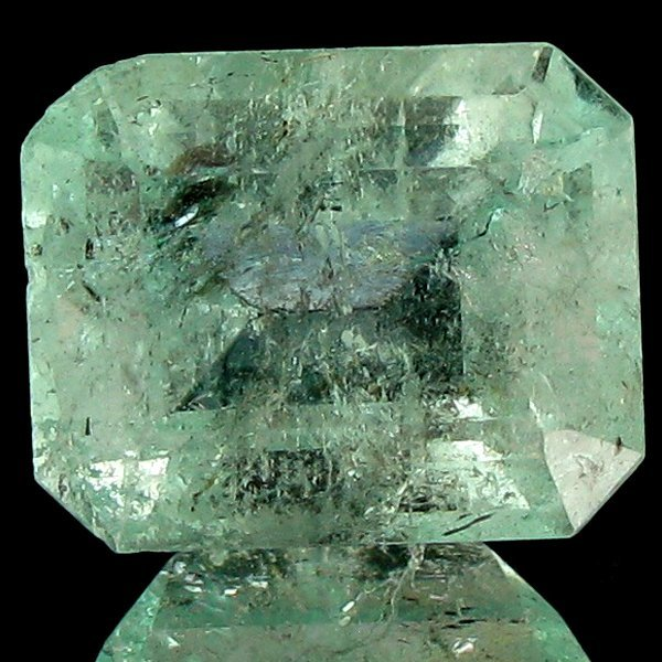 118: 6.14ct Blue Green Columbian Emerald Appraised $29k