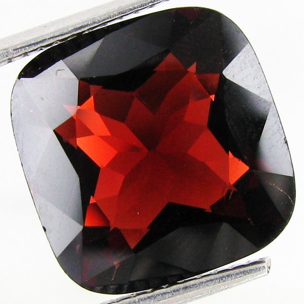 302: 7.03ct Huge Rare Deep Orange Red Spinel