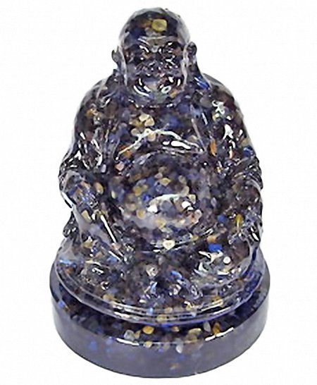 32: 930.00ct. Nice Happy Buddha Statue Blue Sapphire