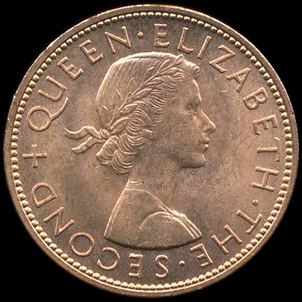 68: 1963 New Zealand 1p MS64
