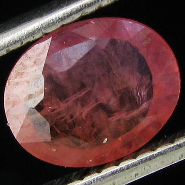 0.86ct Clean Padparadsha Sapphire Oval