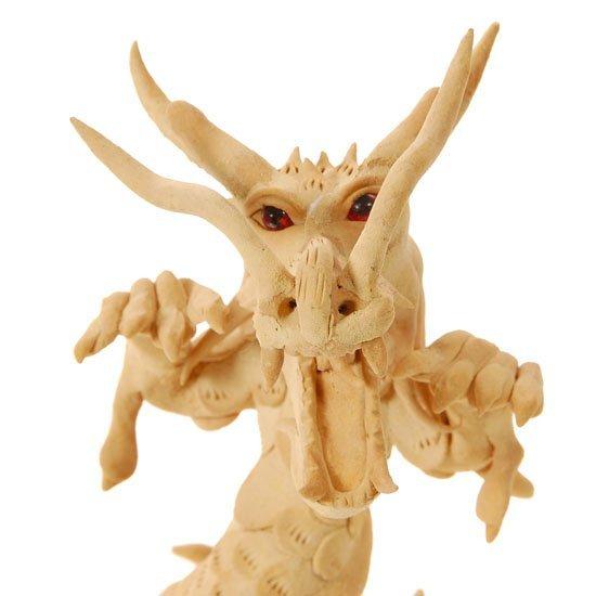 Handmade Teak Dragon