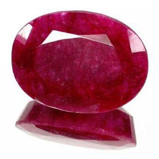 6+ct. Excellent African Ruby Oval Cut