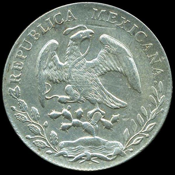 1888 Mexico Guanajuato 8R AU+