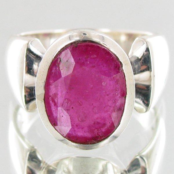 40.95twc Ruby Sterling Ring