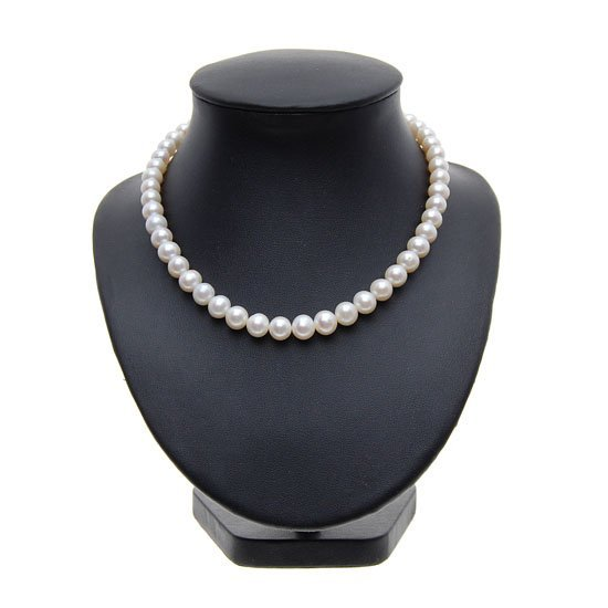 Rare White Saltwater Pearl Necklace